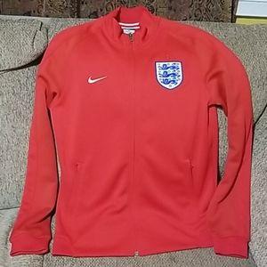NIKE England Men's Medium Soccer Zipup Jacket